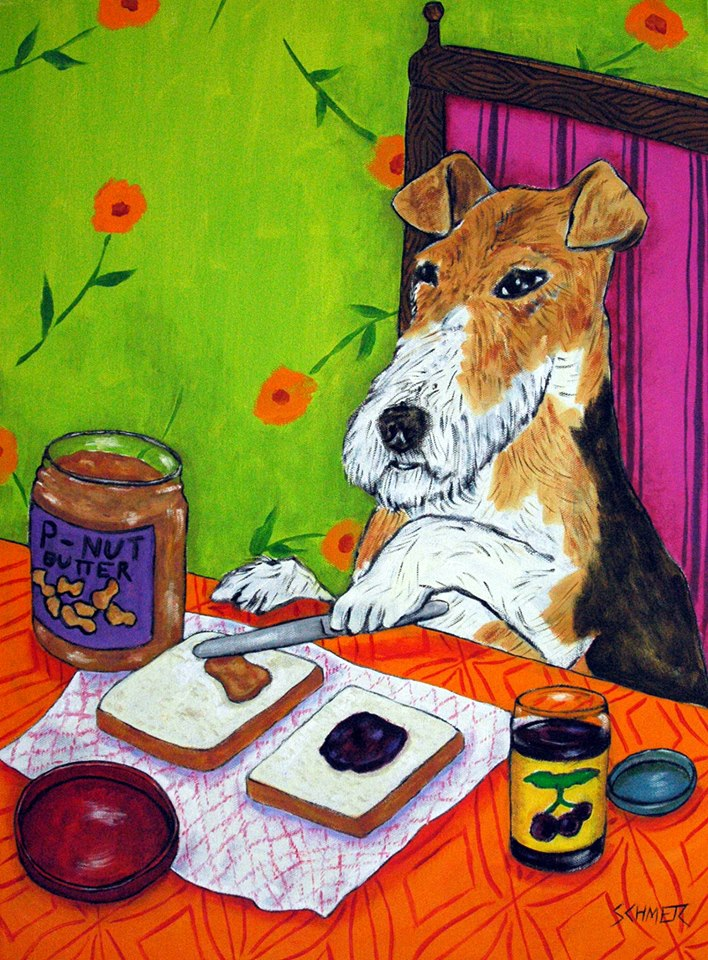 Custom Pet Paintings By Jay Schmetz Art Dogs In Funny